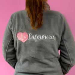 Woman Jacket Fleece - Grey