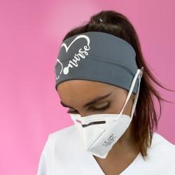Grey Nurse Headband with...