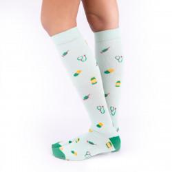 Compressive Socks - Footprints