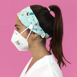 Aqua nurse Hairband with...