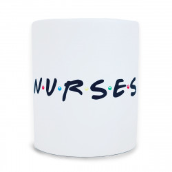 Taza cerámica N·U·R·S·E·S