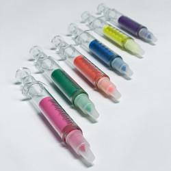 Thick highligher fluorescent marker - Syringe