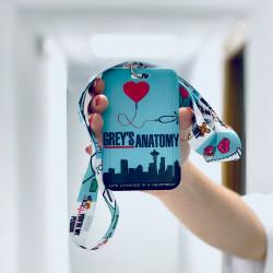 Lanyard with ID holder - Anatomy