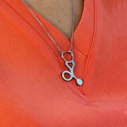 Chain with fonendoscopio
