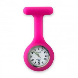 Reloj silicona enfermera - fucsia