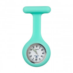 Reloj silicona Enfermera - aguamarina