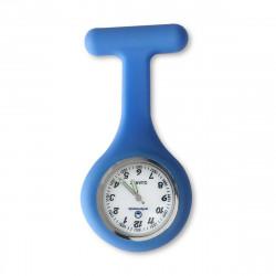 Reloj silicona enfermera - azul clásico