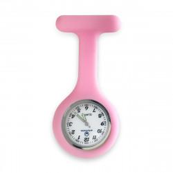 Reloj silicona enfermera rosa chicle