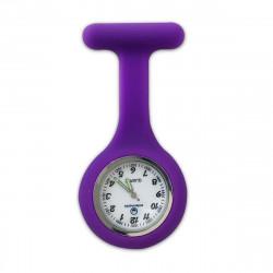 Reloj silicona enfermera violeta