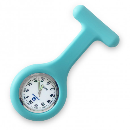Reloj silicona Enfermera - Celeste