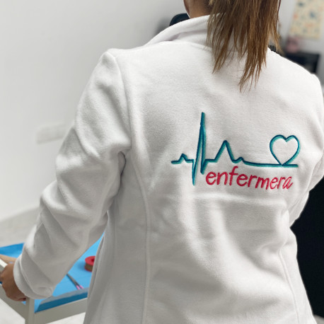polar blanco enfermera