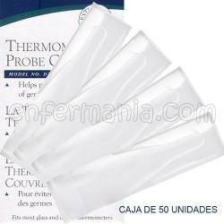 Luvas higiênicas termômetro