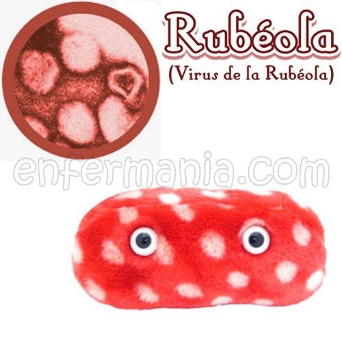 Mikrobe Riesen-plüsch - röteln