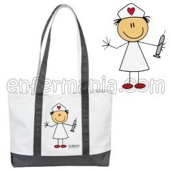 Tasche tragekorb - Stick Nurse - Grau