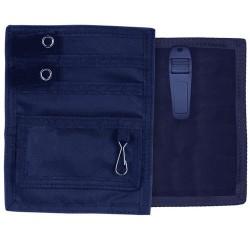 Organisateur de poche avec clip - Bleu marine