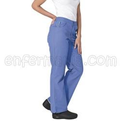 Pantalone Landau Jeans Di Ispirazione - Ceil Blu