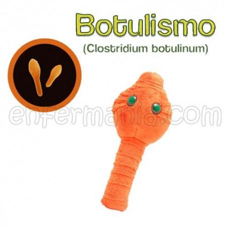 Microbio Gigante de peluche - Clostridium Botulinum