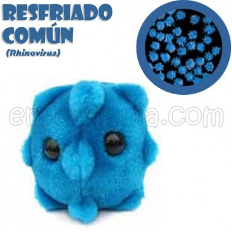 Microbio Gigante de peluche - Rhinovirus (resfriado)