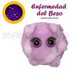 Epstein-Barr Birusa (Enf. musu) - Mikrobio Erraldoi plush