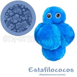 Microbio Xigante teddy - Staphylococcus Aureus