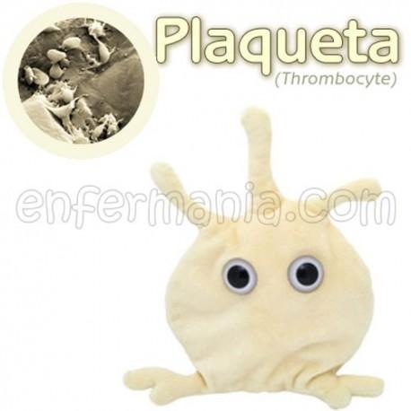 Microbio Gigante de peluche - Thrombocyte (plaqueta)