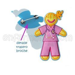 Brooch Pink
