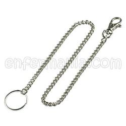 Porta tisores cadena de metall