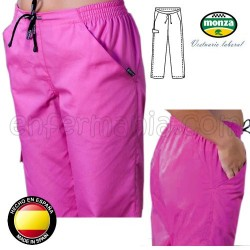 Pantalon fuchsia femme Monza