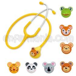Fonendoscopio pediatrico animais