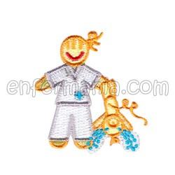 Patche textile termoadhesivo - Midwife