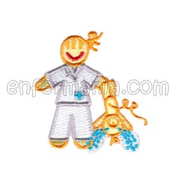 Patche textil termoadhesivo - Matrona