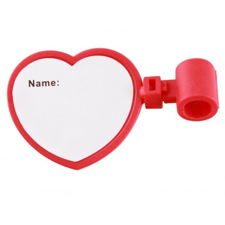 Placa ID Corazón