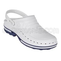 Clogs Wock Clog - white/blue
