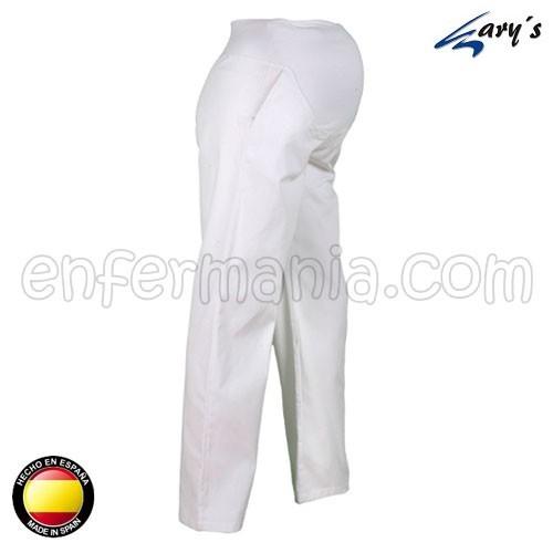 Pantalon Gary la Premaman - Blanc