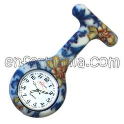 Rellotge de silicona Enfermania - paper Pintat