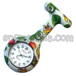 Relógio silicone Enfermania...