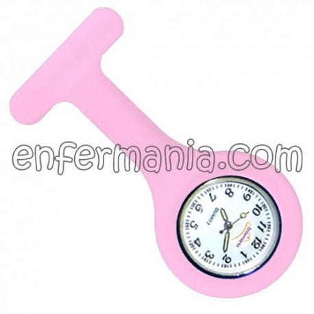 Reloj silicona Enfermania - Rosa chicle