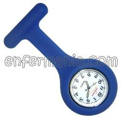 Orologio in silicone Enfermania - Blu