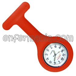 Reloj silicona Enfermania - Rojo