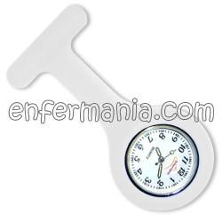 Rellotge de silicona Enfermania - Blanc
