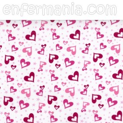 Gorro casquete - Pink Hearts