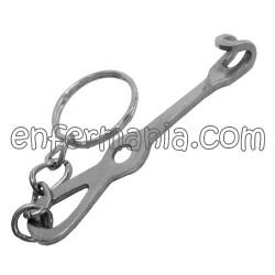 Metal anel de clave Separador