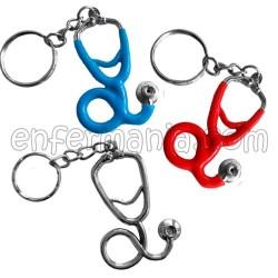 Metal anel de clave Fonendoscopio