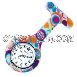 Rellotge de silicona Enfermania - Caramel Suau
