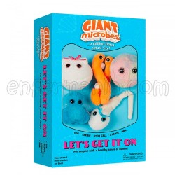 Caixa mini-giantmicrobes Let's Get It On (Vamos por isso)