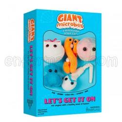 Caixa mini-giantmicrobes Let's Get It On (Vamos por isso)