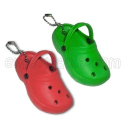 Schlüsselanhänger mini-holzschuh EVA - Farben
