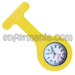Reloj silicona Enfermania - Amarillo huevo