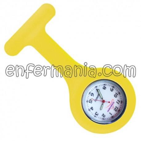 Rellotge de silicona Enfermania - Groc de l'ou
