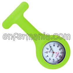 Orologio in silicone Enfermania - Verde Fluor